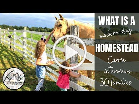 The Homestead Documentary   Ep.1 what is a homestead anyway ?