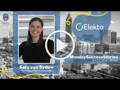 #MondaySuccessStories Sara von Sydow