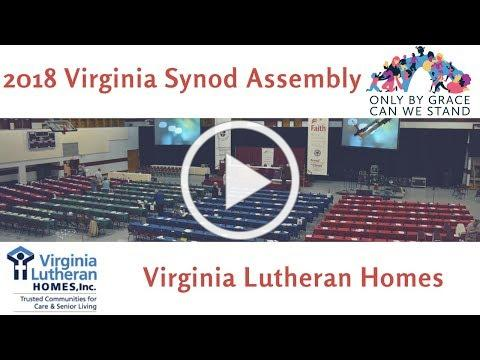 Virginia Synod Assembly 2018 Updates-Virginia Lutheran Homes