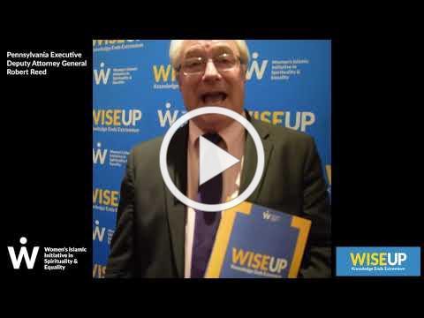 WISE Up Endorsement - Pennsylvania Executive Deputy Attorney General Robert Reed