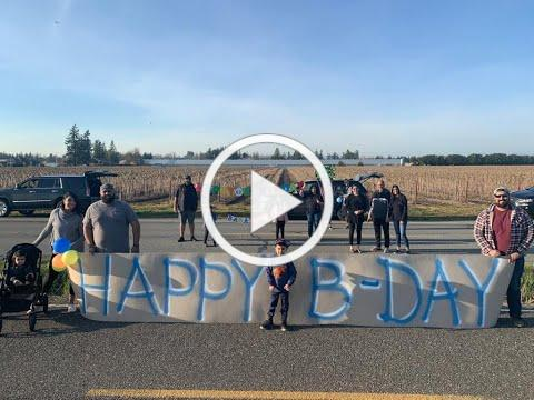 Border Meetup for Birthday Surprise During COVID-19 Lockdown