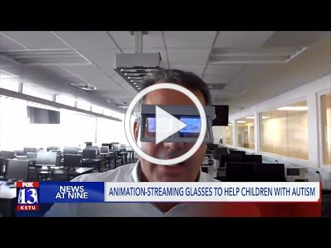 BYU engineers create glasses to help children with autism make eye contact