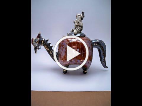 Fantasy Animals in Clay