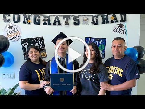 Thank You: Kevin Mendez '20 - UC Irvine