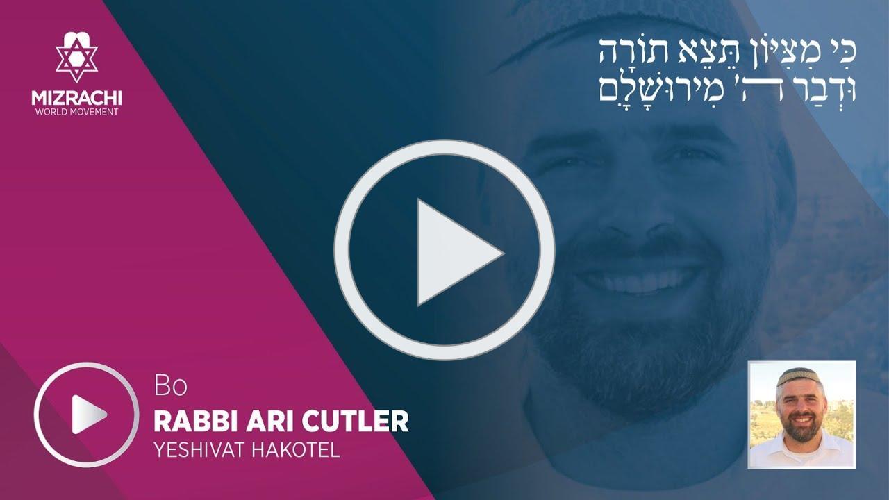 Rabbi Ari Cutler | Bo 5780
