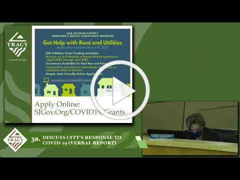 City Manager COVID-19 Update 3-16-21