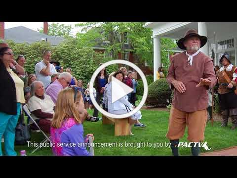 Pirates Ashore event on May 19, 2018 - General Society of Mayflower Descendants- PSA