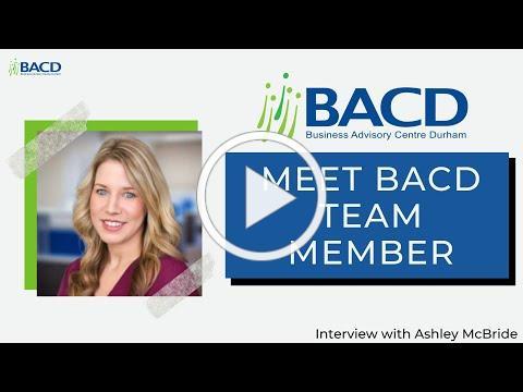 Meet BACD Team Member - Ashley McBride