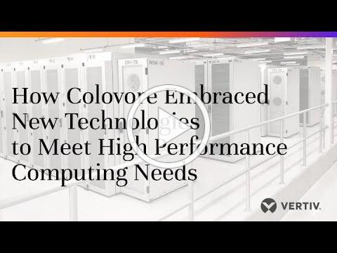 How Colovore Used a Passive Water Cooling Solution to Meet HPC Needs
