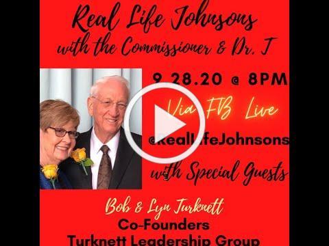 bob and lyn commissioner Larry Johnson