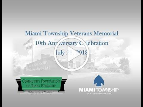 Miami Township Veterans Memorial 10th Anniversary Celebration
