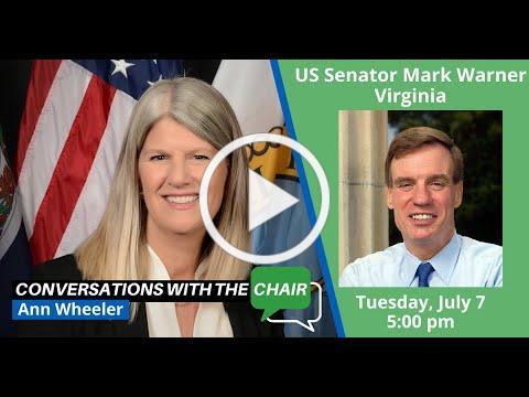 A federal update with US Senator Mark Warner, Virginia