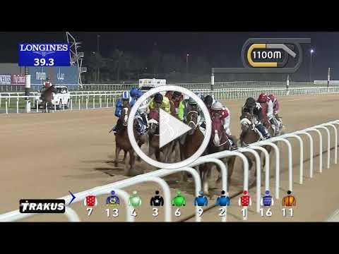 Race 1 Al Maktoum Challenge - Race Replay