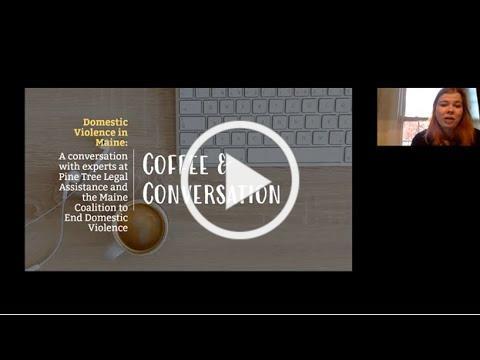 Coffee & Conversations: Domestic Violence (October 29, 2020)