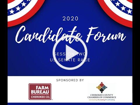 Candidate Forum Sesson Two US Senate