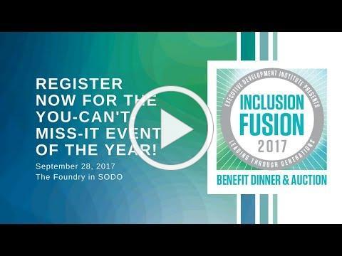 Register for EDI's 2017 Inclusion Fusion!