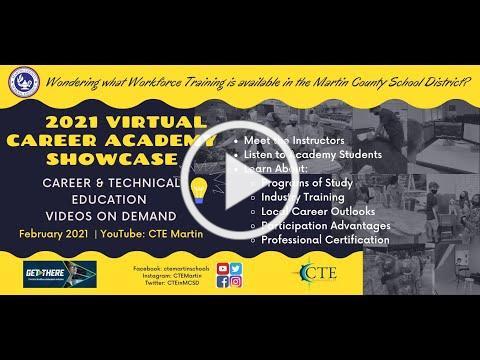 Martin County School District's 2021 CTE Showcase Trailer