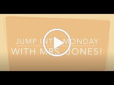 Jump Into Monday with Mrs. Jones_8-17-2020