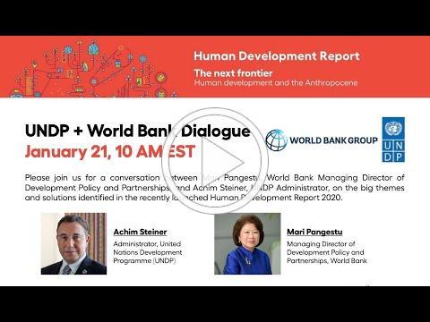 Human Development Report - The Next Frontier Human Development and the Anthropocene Jan 21, 2021