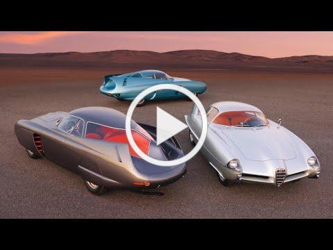 Cars as Art: Alfa Romeo's B.A.T. Concept Cars