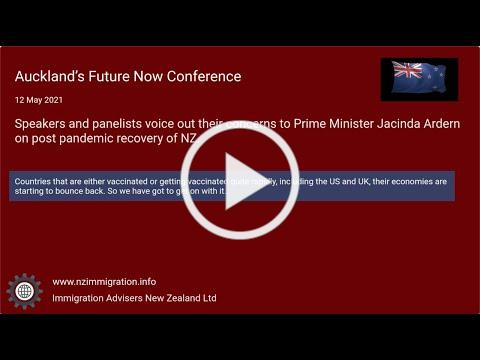 10 Key Messages - Auckland's Future Now conference (12 May 2021)