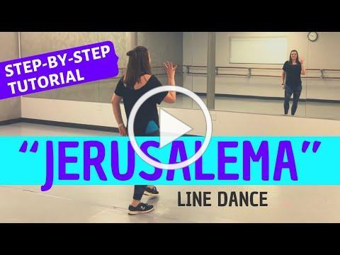 """JERUSALEMA"" DANCE | Master KG (BEGINNER LINE DANCE TUTORIAL) Back-view, Step-by-Step, and Easy!"