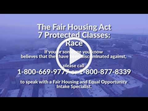 The Fair Housing Act Protected Classes: Race