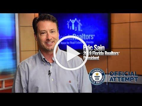 Florida Realtors Guinness World Record Attempt Invitation