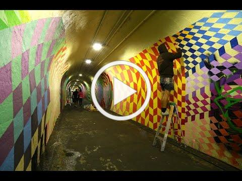 191st Street Tunnel Beautification Project