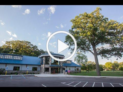 Take a tour of the new Veterans Memorial Building
