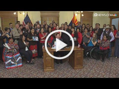 Ducey signs bill for missing and murdered Indigenous women and girls