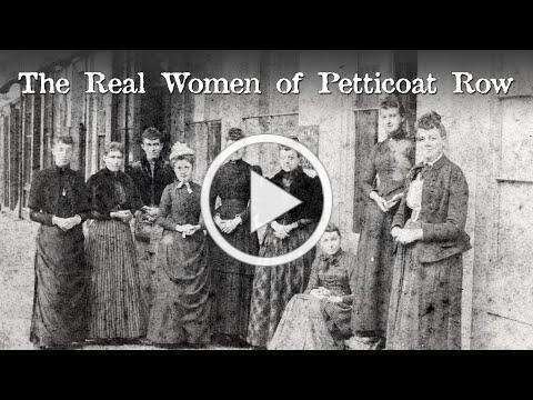 The Real Women of Petticoat Row, Centre Street, Nantucket