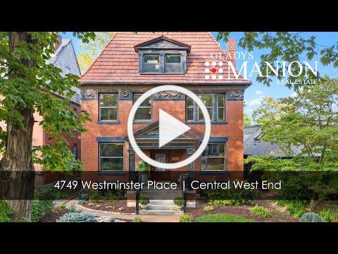 4749 Westminster Place | Homes for sale in Central West End
