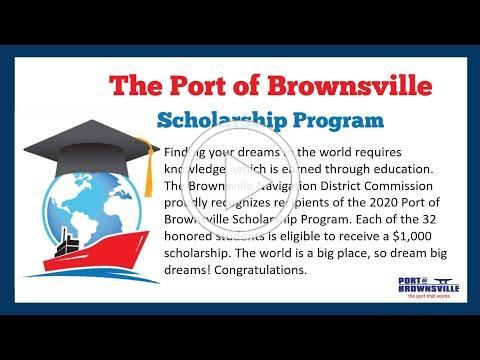 Port of Brownsville Scholarship Program 2020