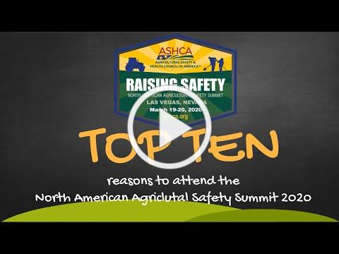 Top 10 Reasons to Attend ASHCA 2020