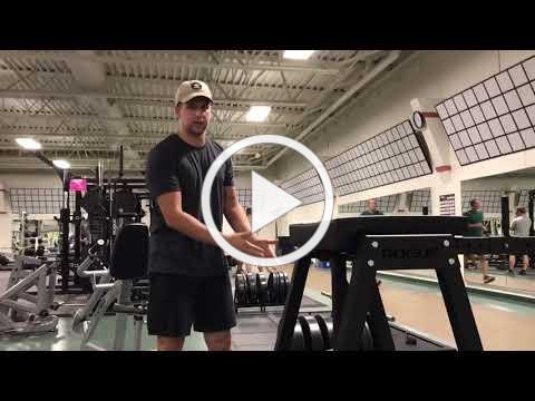 Walker Ice & Fitness Trainer Tip: Hyperextension Machine