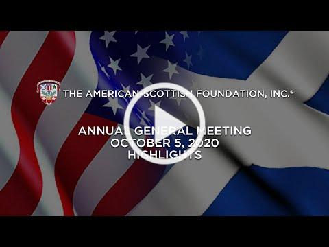 American Scottish Foundation AGM Meeting 2020a