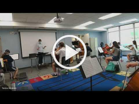 Upper School Orchestra 9-24-20