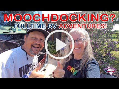 Our First Moochdocking Experience   Full Time RV Life   RV Texas Y'all