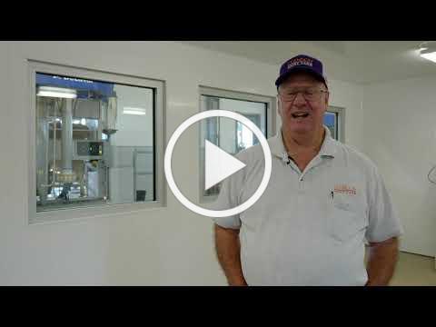 New Robotic Milker at LaMaster Dairy Farm