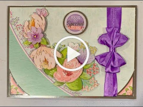 Live Stream Hunkydory Valentines In Full Bloom Card Class -- Makes Cards