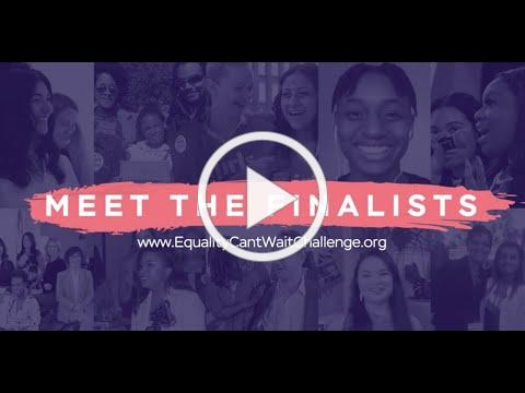 Announcing the Equality Can't Wait Challenge Finalists