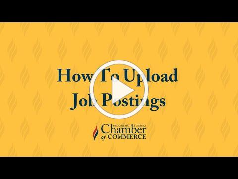Job Postings Tutorial