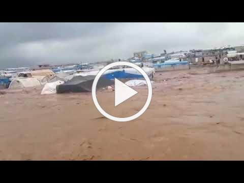 Flooding in Northern Syria IDP Camps (5)