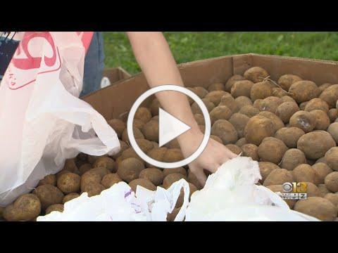 Eastern Interfaith Outreach Providing Food To Those In Need In Baltimore County