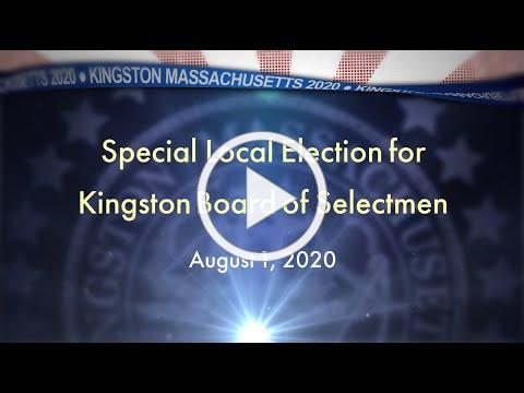 #Kingston Candidates for Board of Selectmen - Election 2020
