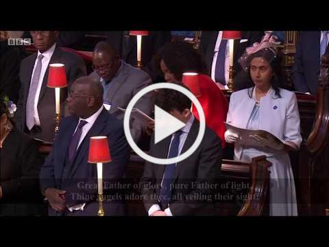 Immortal, invisible, God only wise Hymn (+lyrics) - Westminster Abbey Commonwealth Day Service 2020