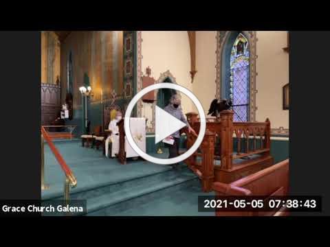 Grace Episcopal Church, Galena IL, Wednesday, 5/5/2021