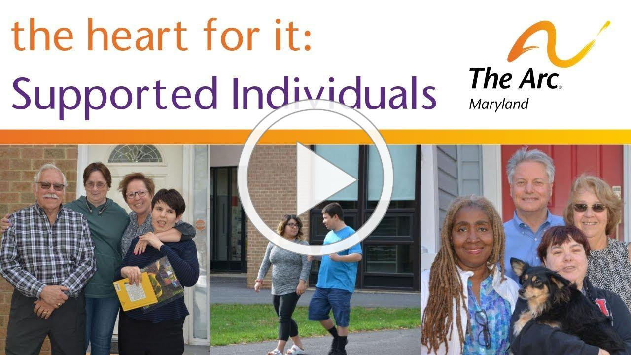 the heart for it - Supported Individuals Short