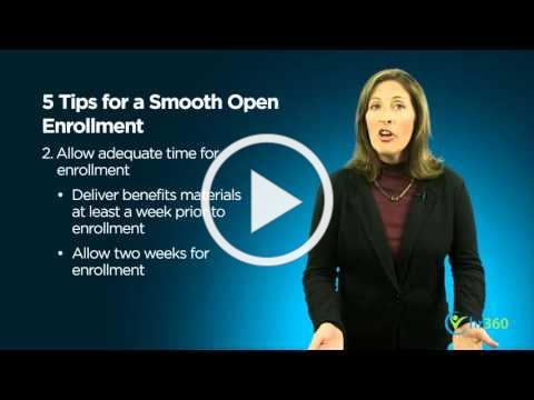 5 Tips for Successful Open Enrollment
